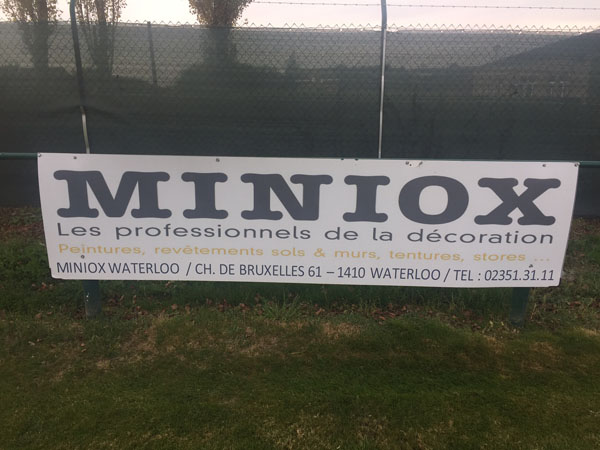 Sponsoring Miniox - Imexo Cup 2016