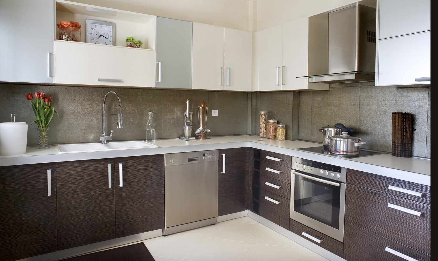 Cuisine id es d coration et peinture - Lo ultimo en cocinas modernas ...