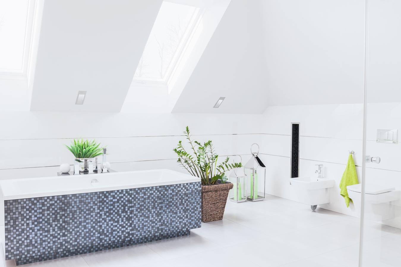 Salle de bain id es d coration et peinture - Idee deco betegelde badkamer ...