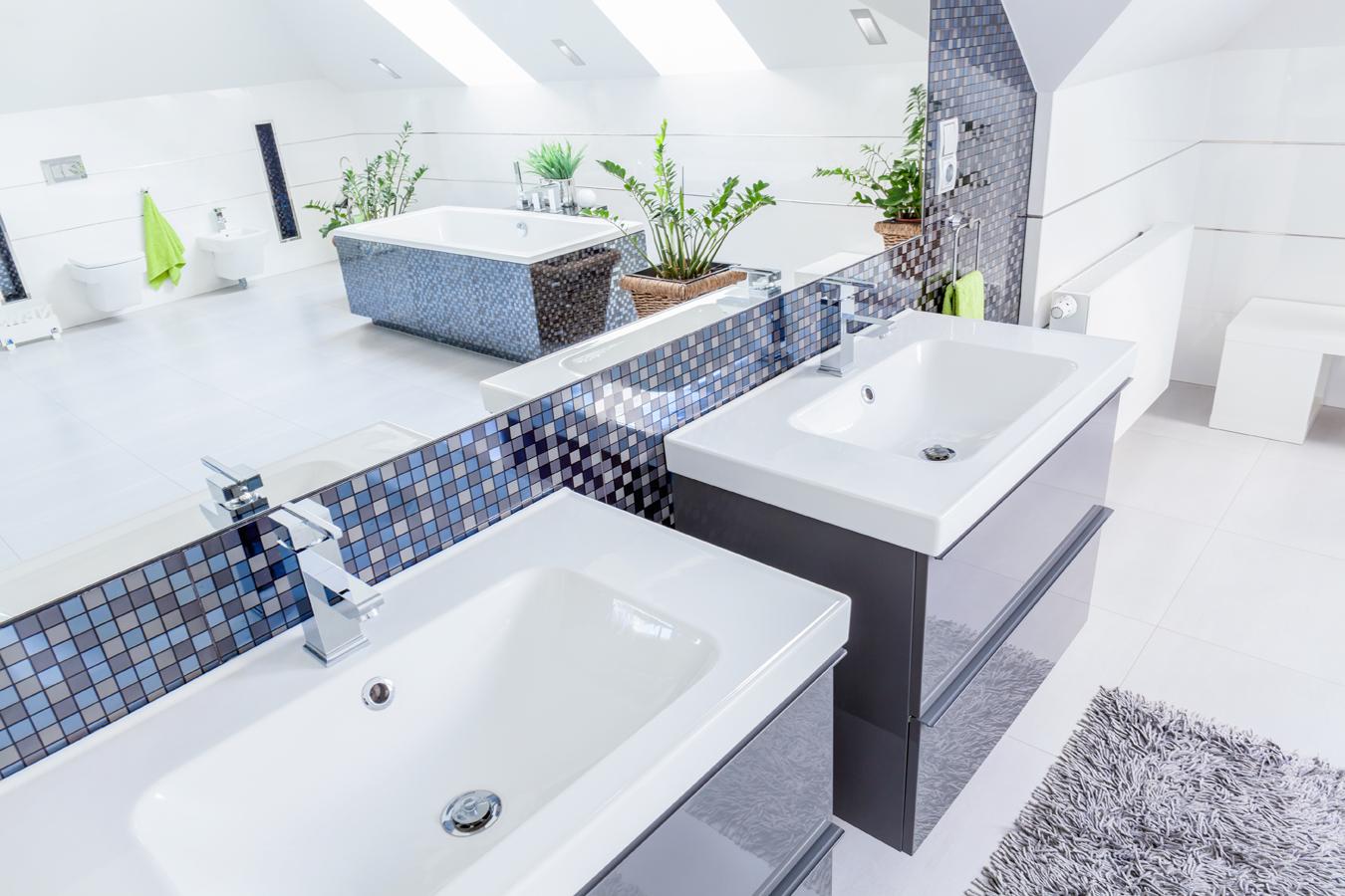 Art deco badkamer huis ontwerp ideeen