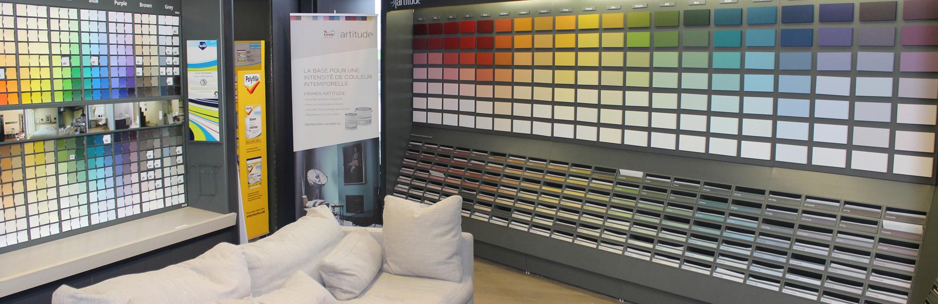 peinture professionnelle choix des couleurs et marques de. Black Bedroom Furniture Sets. Home Design Ideas